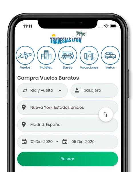 App Travesias
